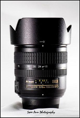 Nikon Nikkor AF-S DX 18-70mm f/3.5-4.5G IF ED