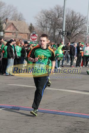 Finish Kids Race - 2013 Corktown Race