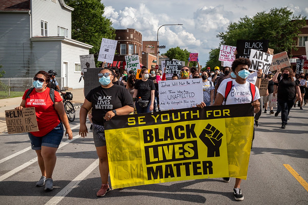 BLM Hegewisch Rally & March - 6/27/20