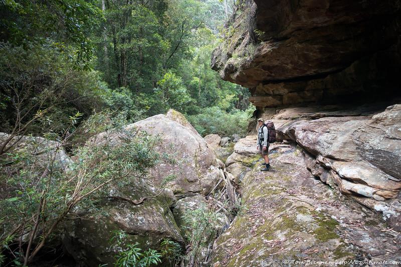 Great rock slabs