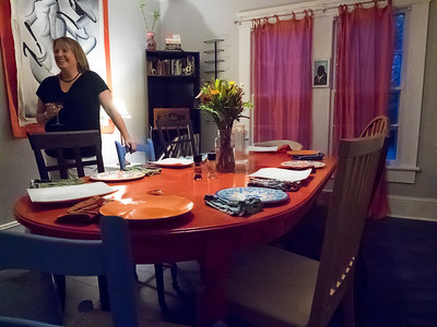 Dinner with Jess and Mike: Aug 2016