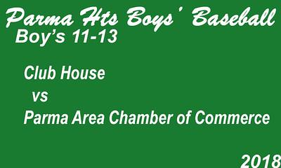 180625 Parma Heights Boy's 11-13 Baseball Powers Field