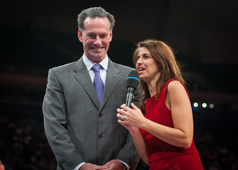 Deb Placey interviews  Jamie Dixon, Pitt coach and brother of Maggie Dixon.