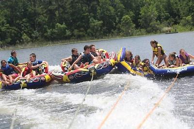 Trinity youth at Lake Geneva