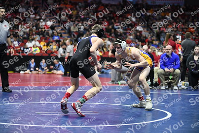 2020 State Wrestling: 2A SemiFinals Consolations