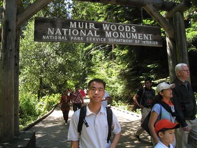 Yosemite CA Muir Woods