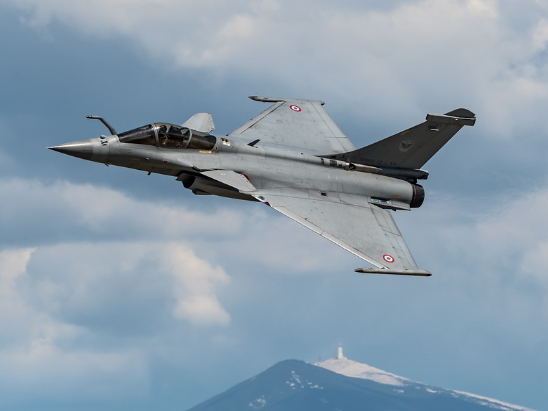 French Air Force RSD / Dassault Rafale C / 4-GH