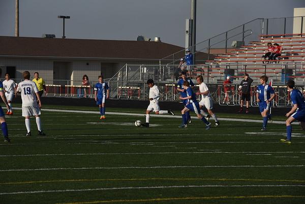 Junior Varsity Boys Soccer vs Bennington