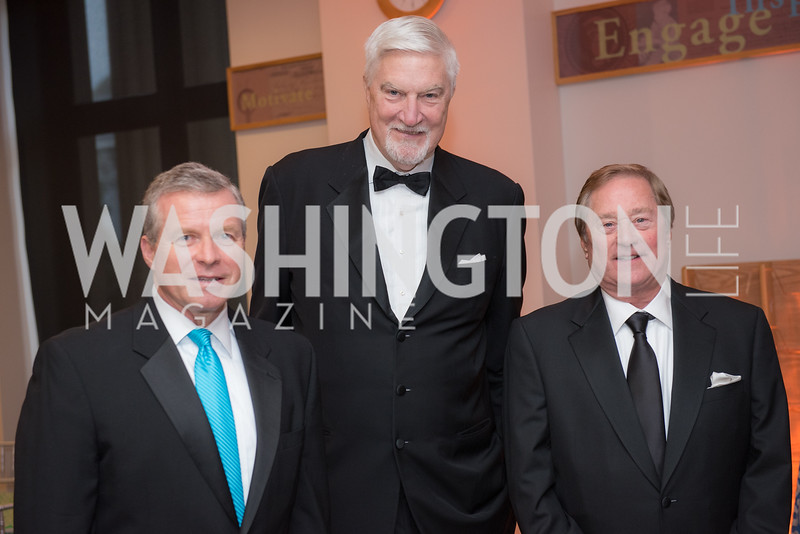 Congressman Charlie Dent, Tom McMillen, James Blanchard,  National Archives Foundation, Records of Achievement Gala, Honoring First Lady Laura Bush.  October 10, 2018.  Photo by Ben Droz.