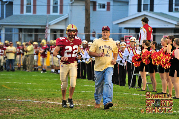 """9.22.12 - NB Lions Football vs. Aliquippa Quips - """"Dad's Day"""""""
