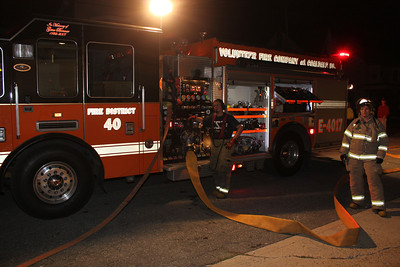 Firefighter Training, Coaldale Fire Company, Coaldale (9-19-2011)