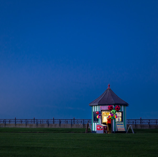 Kiosk on Bray Seafront