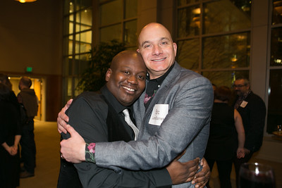 Seattle Men's/Womens's Chorus Reception with Tituss Burgess 2015/11/30