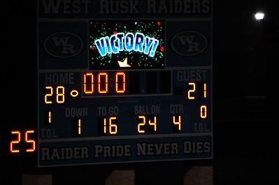 October 9, 2015 Winona Wildcat game