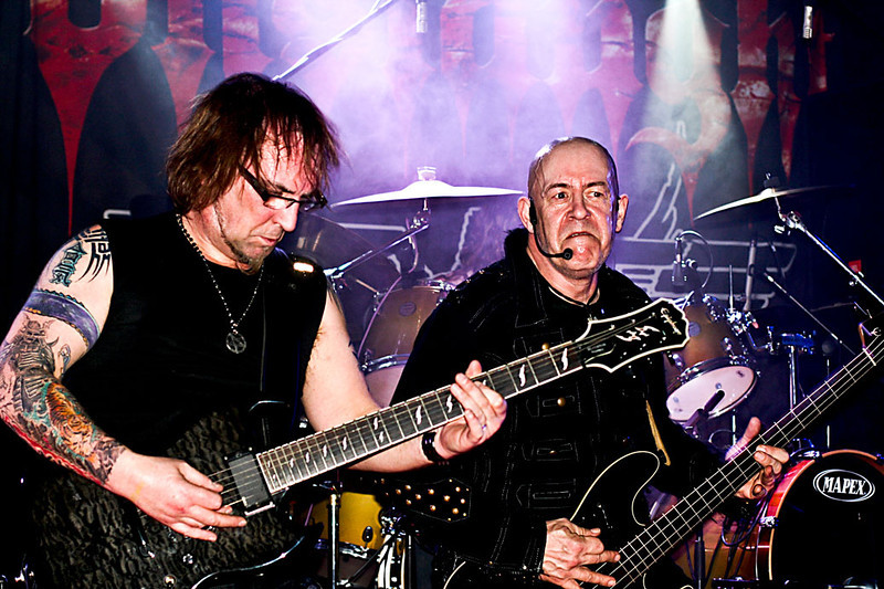 Jeff Dunn (Mantas) and Tony Dolan (Demolition Man) of Mpire of Evil  @ The Avalon Nightclub