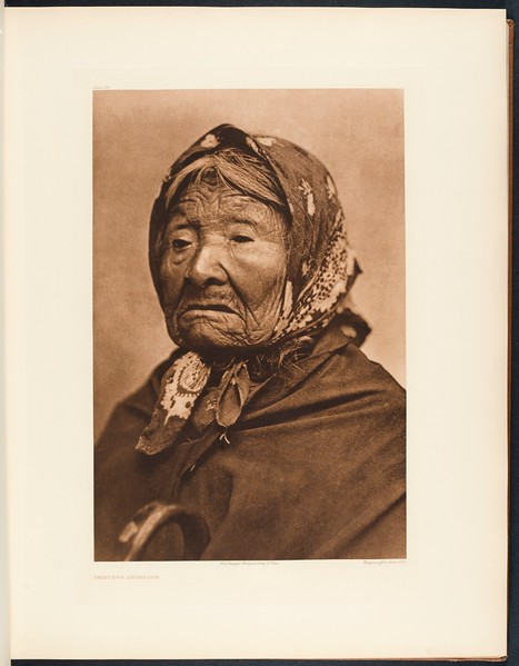 The North American Indian, vol. 9 suppl., pl. 314. Princess Angeline