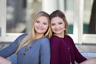 Alyssa & Alexis  | 2017 THS Senior