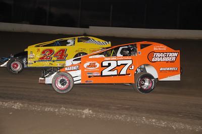 Brewerton Speedway-Hurricane 100-Jeremy McGaffin-10/10/13