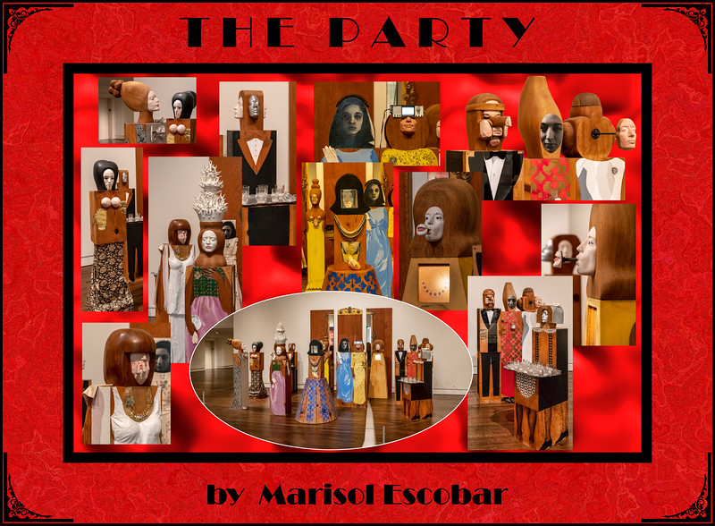 Alphabet Challenge:  P – The Party