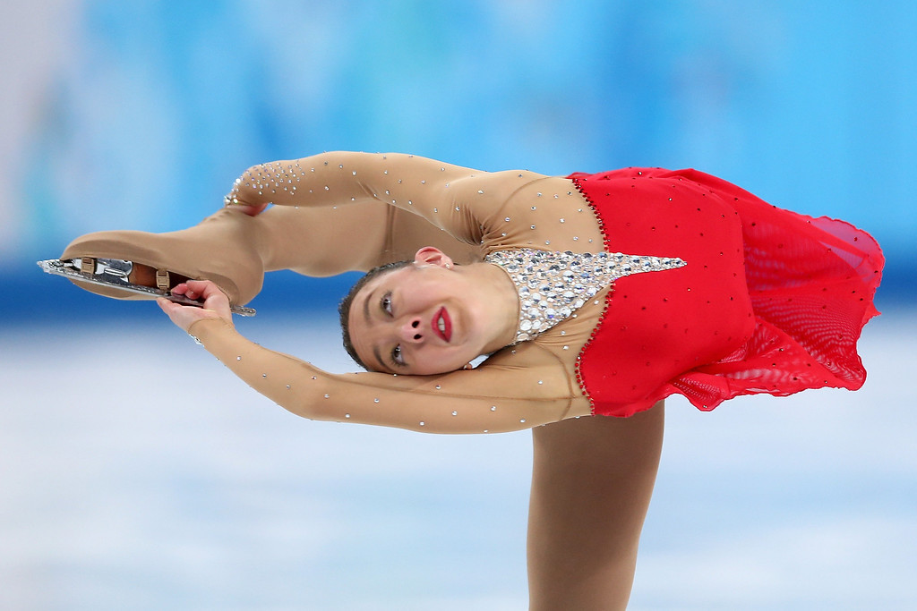 . Brooklee Han of Australia competes in the Figure Skating Ladies\' Free Skating on day 13 of the Sochi 2014 Winter Olympics at Iceberg Skating Palace on February 20, 2014 in Sochi, Russia.  (Photo by Matthew Stockman/Getty Images)