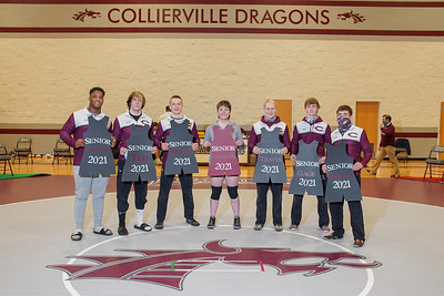 CHS Wrestling Senior Night 1/26/21