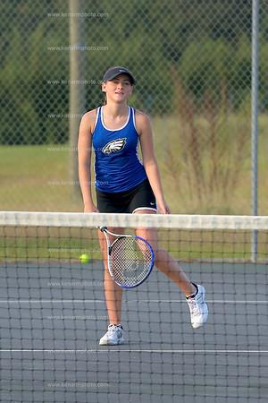 East Bladen 17 Fairmont girls tennis