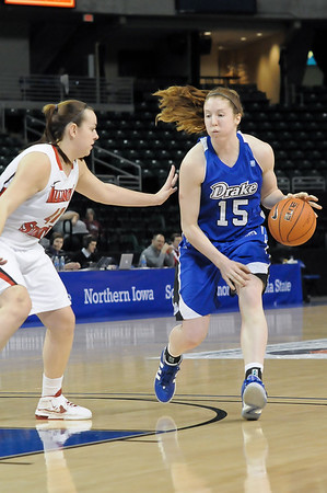 MVC Women's Tournament - Game 5 - Ill State vs Drake - 03/09/12