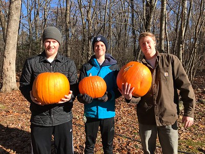 2017 Pumpkin shoot and Thankgiving