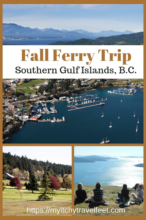 Fall ferry trip to the southern Gulf Islands, B.C. Photos courtesy Salt Spring Island Chamber of Commerce.