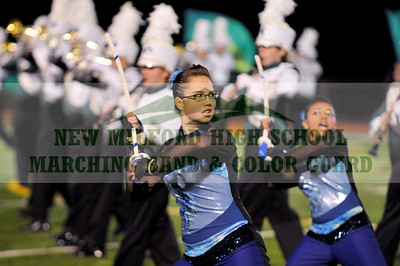 NEW MILFORD HIGH SCHOOL MARCHING BAND at Norwalk, November 7, 2009
