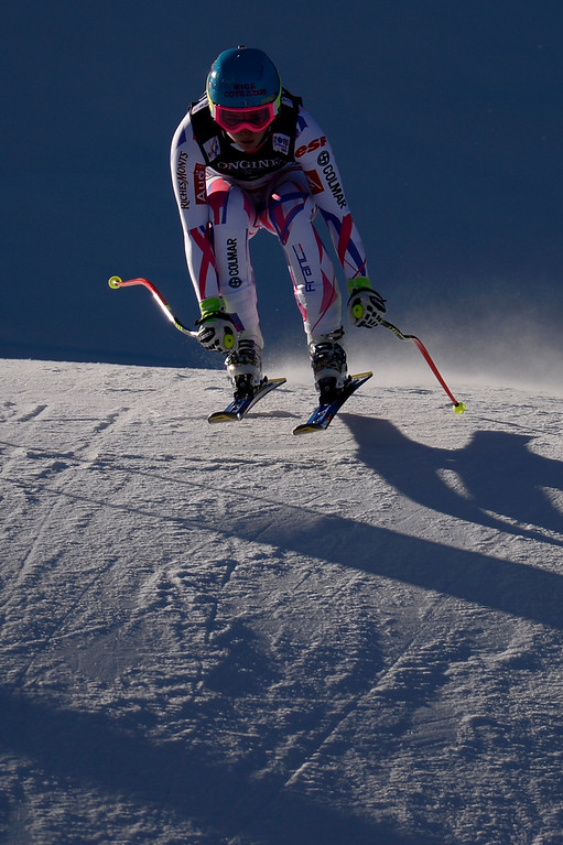 . BEAVER CREEK, CO - FEBRUARY 09: Margot Bailet of France during the men\'s alpine combined final. FIS Alpine World Ski Championships 2015 on Monday, February 9, 2015. (Photo by AAron Ontiveroz/The Denver Post)
