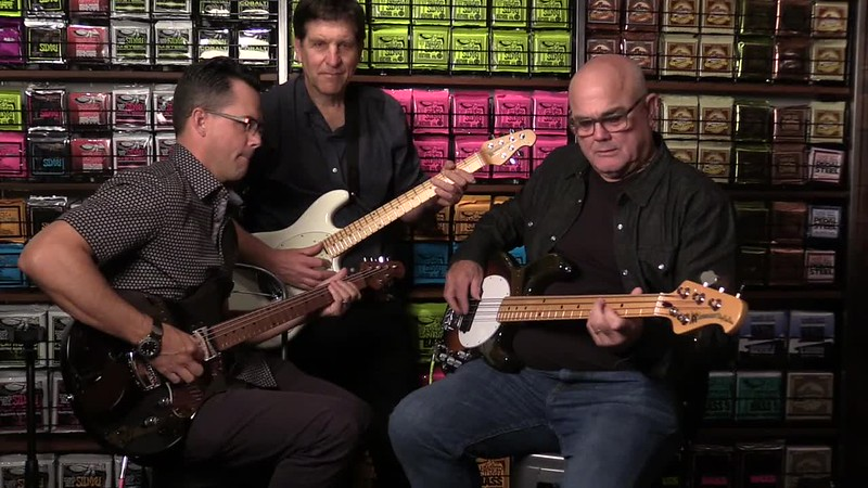 Jammin' with Ernie Ball