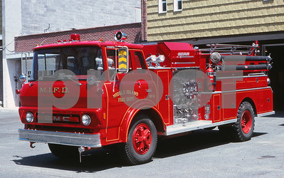 Middle Island Apparatus in 1977