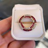 2.90ctw French Ruby and Diamond Brooch, by La Cloche Fres of Paris 24
