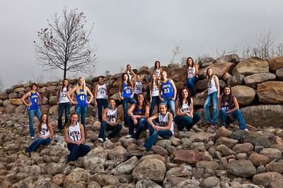 STMA Girls Basketball 2012-13