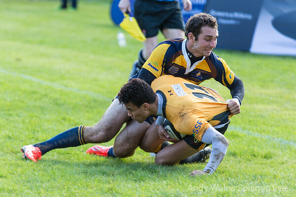 Worthing Raiders V Esher October 2013