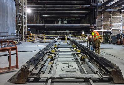 Purple Line Extension construction