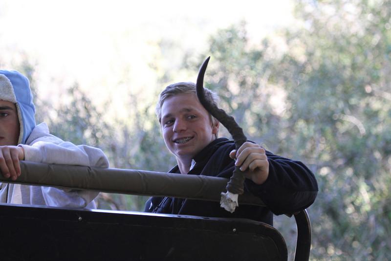 Jason's impala horn