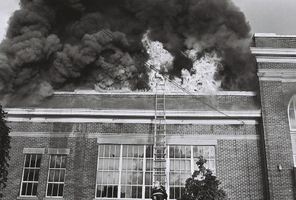 Woodbury Heights School Fire - 1966
