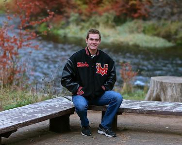 Blake Knirk Senior Pictures 2014  10-10-13