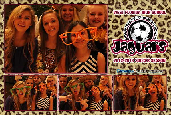 West Florida High School Girls Soccer Banquet 2-22-2013