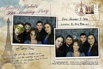 Beatriz Rubio's 50th Birthday Party