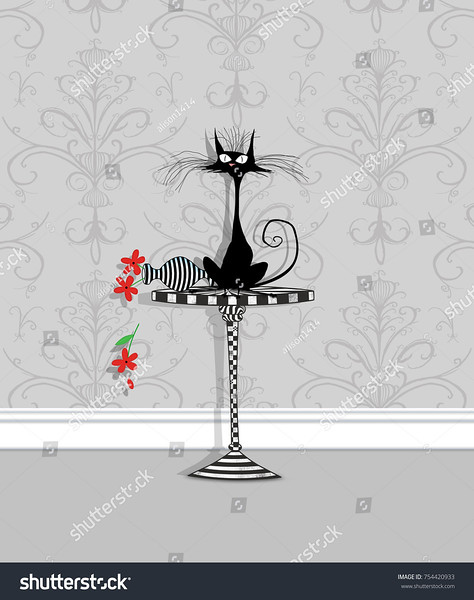 stock-photo-humor-illustration-of-a-startled-cat-on-a-table-with-an-overturned-flower-vase-754420933.jpg