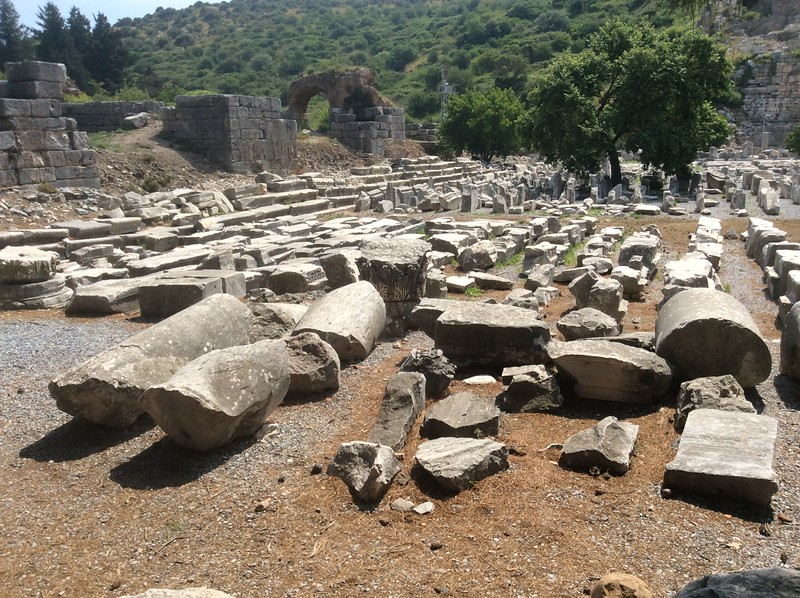 Gymnasium in Ephesus