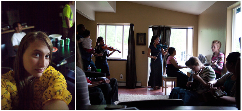 June 2, 2012. Day 148. Hanging around and listening to music with some of the best folks in the world.  Eagle River, AK