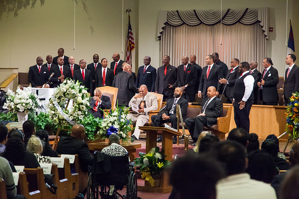 Second Baptist Church men's choir