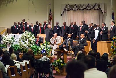 Second Baptist Church men's choir