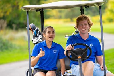Girls Golf Senior Night