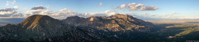 Aerial Pano from Two Rock Mtn.
