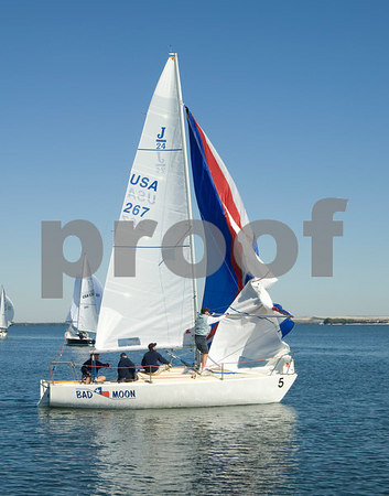 Pan Am Qualifiers for J24's Feb. '07, Bow #5, Sail #267, Boat name-Bad Moon